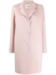 Manzoni 24 Single Breasted Coat Pink