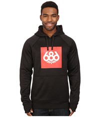 686 Knockout Bonded Fleece Pullover Black Men's Fleece