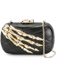 Corto Moltedo Susan C Star Clutch Bag Black