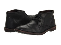 John Varvatos Hipster Chukka Black Calfskin Men's Lace Up Boots