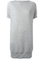 Sacai Sweater Dress Grey