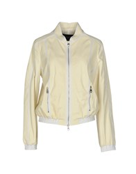 Emporio Armani Jackets Light Yellow
