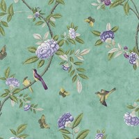Graham And Brown Chinoiserie Wallpaper Sample Swatch