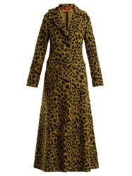 Missoni Leopard Jacquard Terry Coat Yellow Multi