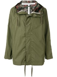 Sempach Camouflage Lined Parka Green
