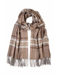 Johnstons Of Elgin Cashmere Stole Brown