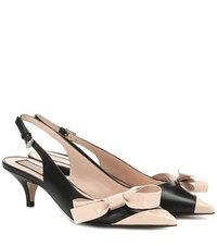 N 21 Leather Pumps Multicoloured