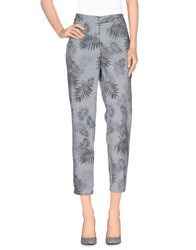 Good Mood Trousers Casual Trousers Women Light Grey