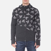 Vivienne Westwood Anglomania Men's Time Machine Hoody Black Heather