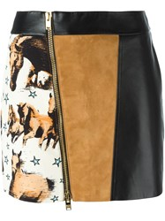 Fausto Puglisi Mini Jupe Skirt Black