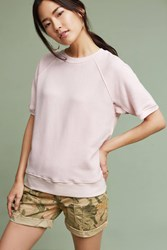 Anthropologie Dorian Sweatshirt Pink