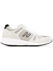 Hogan Lateral Logo Sneakers White