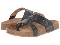 Haflinger Marcy Black Women's Sandals