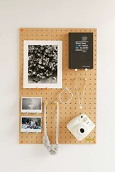 Urban Outfitters Block Design Pegboard Brown