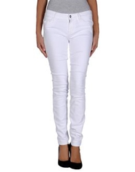 Koral Denim Pants White