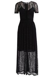 Oh My Love Clematis Summer Dress Black
