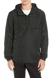 Rvca Packaway Ii Hooded Anorak Rvca Black