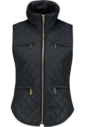 Michael Michael Kors Quilted Shell Gilet Blue