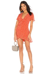 Beach Riot Summer Dress Red