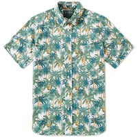 Gitman Brothers Vintage Short Sleeve A.M. Palm Shirt Multi