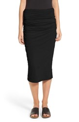 James Perse Women's Shirred Tube Skirt