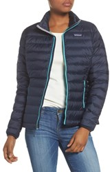 Patagonia Packable Down Jacket Navy Blue W Strait Blue