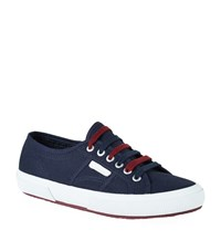 Sandro Peckam Canvas Sneaker Female Blue