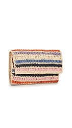 Mar Y Sol Chloe Clutch Natural Multi