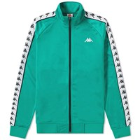Kappa Taped Anniston Track Top Green