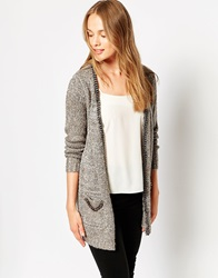 Jovonna Clio Knit Jacket Grey