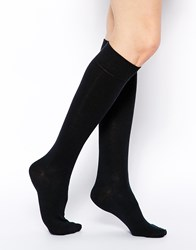 Asos Knee High Socks Black