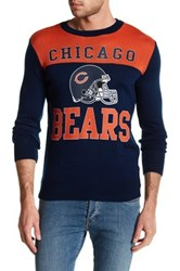 Junk Food Chicago Bears Sweater Blue