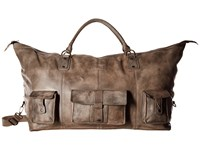 Bed Stu Exile Taupe Driftwood Bags