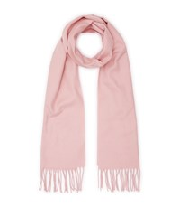 Reiss Ashby Tasselled Scarf In Pink