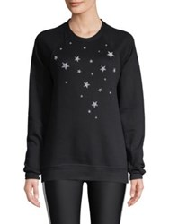 Ultracor Swarovski 5 Point Nero Sweatshirt Black