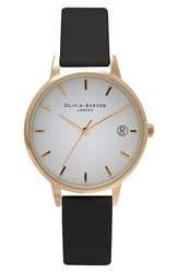 Women's Olivia Burton 'The Dandy' Leather Strap Watch 30Mm