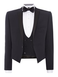 Paul Costelloe Slim Fit Black Three Piece Tuxedo