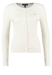 Gant Cardigan Eggshell Off White