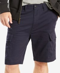 Levi's Men's Carrier Loose Fit Cargo Shorts Nightwatch Blue