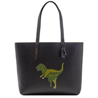 Coach Leather Rexy Tote Black