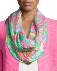 Riley Printed Infinity Scarf Multi Lilly Pulitzer