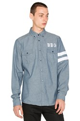 Billionaire Boys Club Scholar Button Down Blue