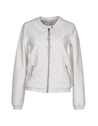 Supertrash Coats And Jackets Jackets Women Ivory