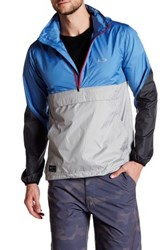 Oakley Half Zip Windbreaker Gray