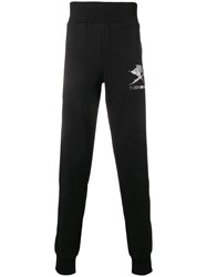 Plein Sport Right Now Track Pants Black