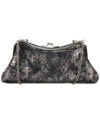 Patricia Nash Lina Small Frame Shoulder Bag Black Pewter