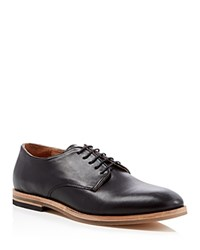 H By Hudson Hadstone Plain Toe Derby Shoes Black