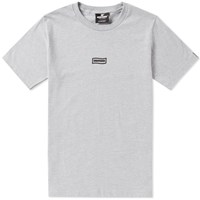 Undefeated Wavy Flag Tee Grey
