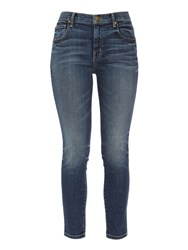The Great The Almost Skinny Mid Rise Jeans