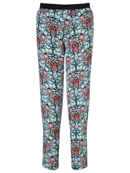 Collection Weekend By John Lewis Daisy Chain Print Trousers Multi